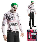 Rubies DC Comics Mens Suicide Squad The Joker Fancy Dress Halloween Costume Set