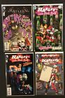 HARLEY QUINN Comic Books SIGNED Linsner TUCCI Tieri CLARK Little Black Book GANG
