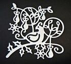 8 Partridge In A Pear Tree Christmas Die Cuts, Any Colour/Card