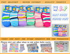 12-60 Pairs Wholesale Job Lot Cotton Socks for Kids Children size 2-3 years old