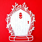 6 Large, Embossed Fairy Door Die Cuts, Tonic Studios. Birthdays. Any Colour/Card