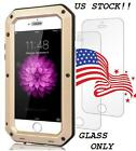 New Gorilla Glass Metal Case Screen Replacement For iPhone Models