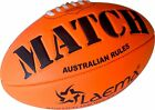 Durable Soft Touch Embossed Grip Neon Foam AFL Australian Rules Footy Ball Size5