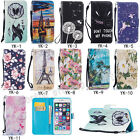 Fashion Flip Printed PU Leder Book Wallet Stylish Case Cover Wallet For Phone yk