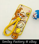 San-x Rilakkuma Style TPU Full Cover Case for iPhone 5/5s 6/6s plus & Accessory