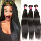 300g 3 bundles 7A Mongolian straight hair weave wefts 100% human hair extensions