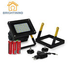 LED  Rechargeable Portable 10W=30W work floodlight for camping +Power Adapter