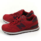 New Balance ML574MDA D Red & Burgundy & White Classic Retro Lifestyle Shoes NB