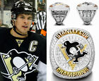 2016 Pittsburgh Penguins Stanley Cup Championship Copper Ring with Gift Box