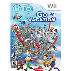 Go Vacation - Nintendo Wii Game Brand New and Sealed