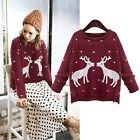 Women Fashion Warm O-Neck Women Pullover Long Sleeve Casual Loose Sweater Tops
