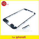 10pcs/lot Front Middle Frame Bezel LCD Holder With Glue For iPhone 4s/5/6/6 plus