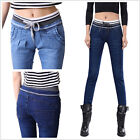 NEW WOMEN/LADIES High Waisted  Stretch Super SKINNY DENIM  JEANS/JEGGINGS 6-18