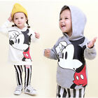 Kids Disney Character Cotton Hoody Shirts Genius Clothes Made in Korea