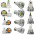 E27 E14 GU10 MR16 COB LED Spot Light Bulbs 6W 9W 12W 15W Cool/Warm/Natural White