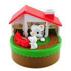 Salvadanaio Dog cat puppy bank cane robotico porta monete automatico Money Box