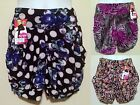 NWT Women Light Shorts with Pockets and Wide Band Polka Dot Flower Design