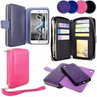 For Apple iPhone 7 Case PU Leather Flip Stand Wallet Card Slot Ladies Bag Cover