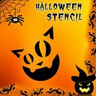 Cat Halloween Mylar Painting Pumpkin Wall Art Stencil