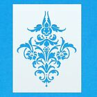 Damask Pattern Vintage Shabby Chic Mylar Painting Wall Art Furniture Stencil 11
