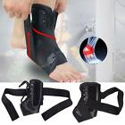 Medical Lace Up Ankle Brace Support Stabilizer Mild Useful Sprains Protection
