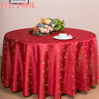 Floral Hotel Meeting Wedding Bar Coffee Table Cloth Covering Round d=260cm Ous