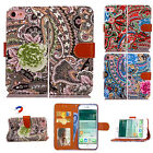 Special Flip Pattern PU Leather Card Wallet Strap Stand Case For iPhone 7 Plus
