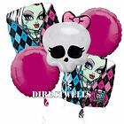 Monster High Authentic Licensed Foil / Mylar Balloon Bouquet