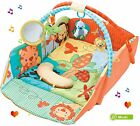 Baby Musical Safari Activity Gym Mat Lullaby Lay&Play Toddler Soft Large Blanket
