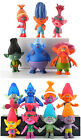 DreamWorks Cartoon Trolls Cosplay PVC Figure Children Doll Souvenir