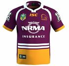 NRL 2017 Home Jersey - Brisbane Broncos - Official - Mens Ladies Youth Kids