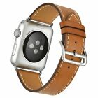 Cuff Leather Replace Herme watch Band Wrist Strap For Apple watch iwatch 38/42mm
