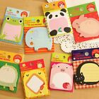 ANIMAL STICKY NOTE PAD  Stocking Filler  - BUY ANY 2 GET A THIRD FREE