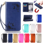 Magnetic PU Leather Wallet Card Holder Flip Cover Stand Case For Huawei Nokia
