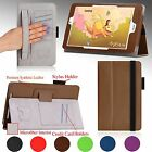 "For Acer Iconia Tab 8 W (W1-810) 8.0"" PU Leather Stand Case Cover w/ Hand Strap"