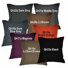 qh+8 Hi​gh Quality Plain Thick Cotton Blend Pillow/Cushion Cover Custom Size