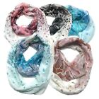 Top Fashionland Premium Soft Rock Fade Sheer Infinity Scarf