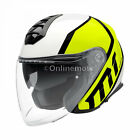 New 2017 Schuberth M1 Flux Yellow Motorcycle Helmet