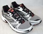 Saucony Men's Grid Marauder Running Shoe (S25287-1), Silver/Black/Red