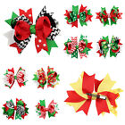 Cute Baby Girl Bow Bowknot Hairpin Christmas Hair Accessories Barrettes Clips