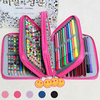 4 Layers High Holder Stationary  Pouch Pencil Case Pen  Storage Bag Makeup
