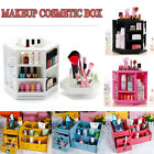 Rotating Cosmetic Organizer Make Up Different Colours Fashion 360degree Wood DIY