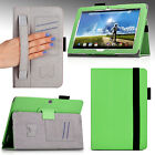 For Acer Iconia Tab 10 A3-A20 Premium PU Leather Folio SlimBook Case Cover Stand