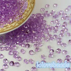 4.5mm Lavender Acrylic Diamond Confetti Wedding Party Crystal Table Scatters