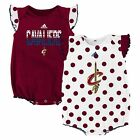 adidas Cleveland Cavaliers Bodysuits Rompers baby infant girl  -2 Pack - NWT on eBay