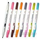 Morning Glory Dual Calligraphy Pen,Marker - 8 Colors - Pick