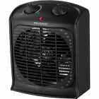 Portable Heater Electric Black Energy Efficient White Forced Small Air Space Fan