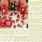 12PCS mixed designs 3d nail art decorations sticker decals beauty manicure tools