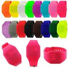 Men's Women's LED Sport Watch Digital Silicone Watch Band Wrist Watch NEW image