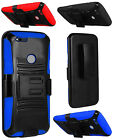 WHOLESALE 5X LOT For Google Pixel XL Rugged Side Kickstand Holster Cover Case